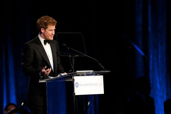 Prince Harry Heads to Washington (Pictures)
