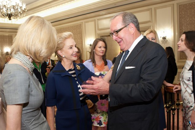 A Luncheon to Benefit Alzheimer's Research, Though the Organizers Had Another Calling (Pictures)