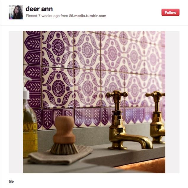 Pinteresting: Big, Bold Tile