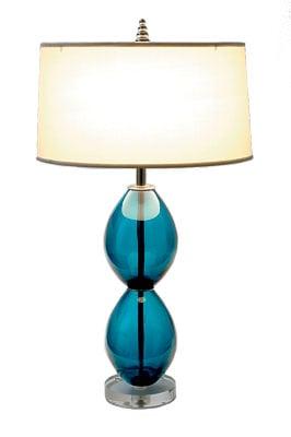 Teal Juju Lamp, $795