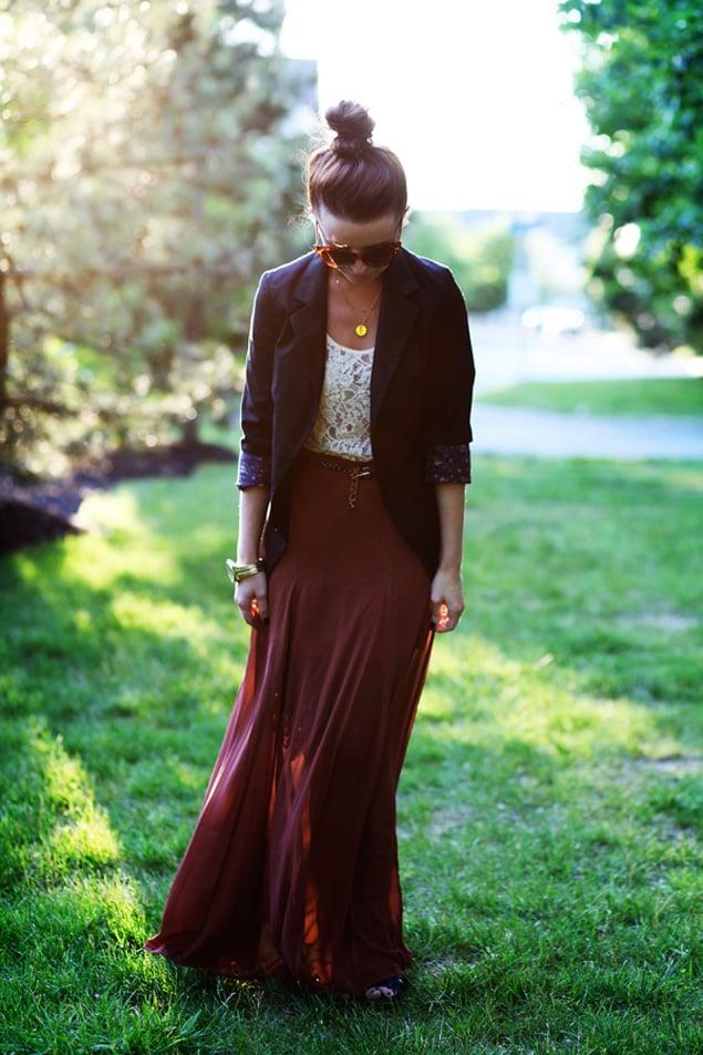 how sydney wears it summer maxi skirts washingtonian