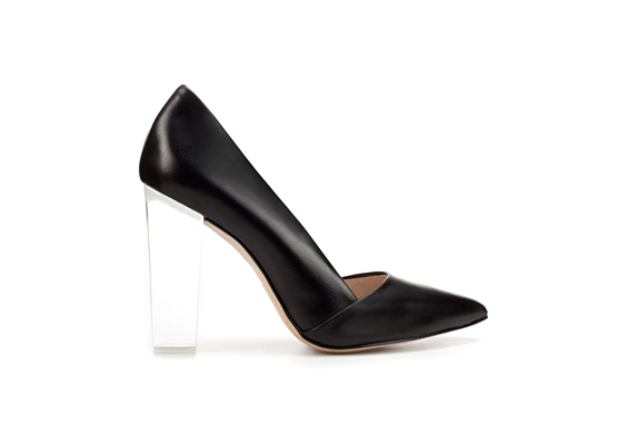 Clear-Heeled Shoes