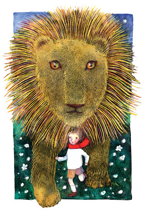 Aslan Leaps Into Action In The Lion The Witch And The