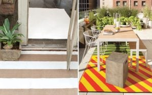 Design Scout: Interior-Worthy Outdoor Rugs (Pictures)