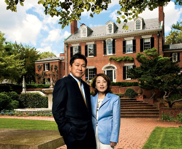 Meet Sachiko Kuno, Owner of Georgetown's Prized and Pricey Evermay Estate and Halcyon House