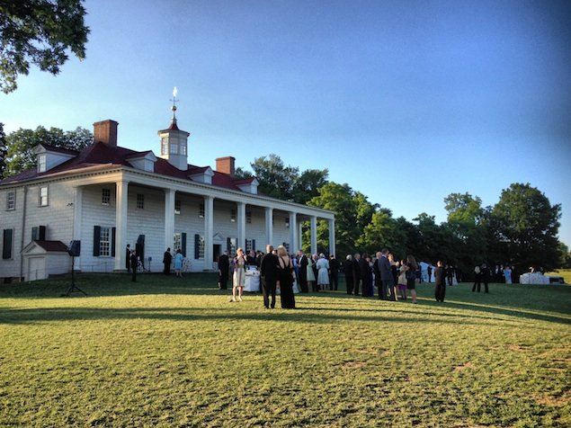 Mount Vernon, a Beautiful Evening, and a ,000 History Prize