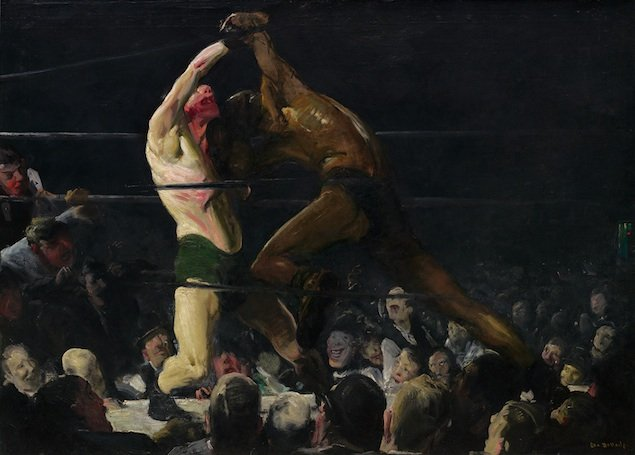 """Art Review: """"George Bellows"""" at the National Gallery of Art"""