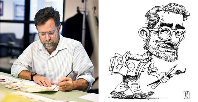 Politico's Matt Wuerker on His Pulitzer-Winning Cartoons