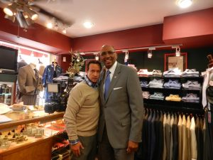 Pauly Shore Goes Shopping With Michael Steele