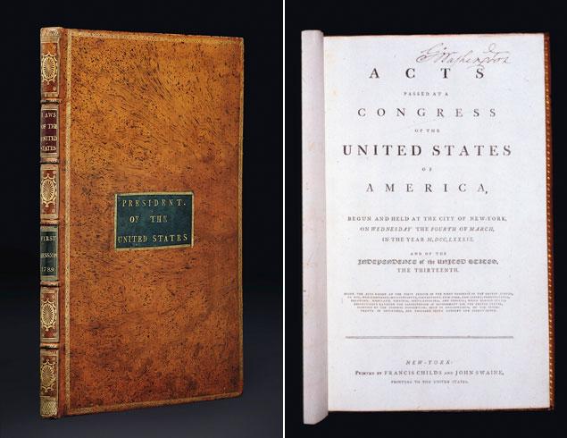 George Washington's Constitution to Return to Mount Vernon