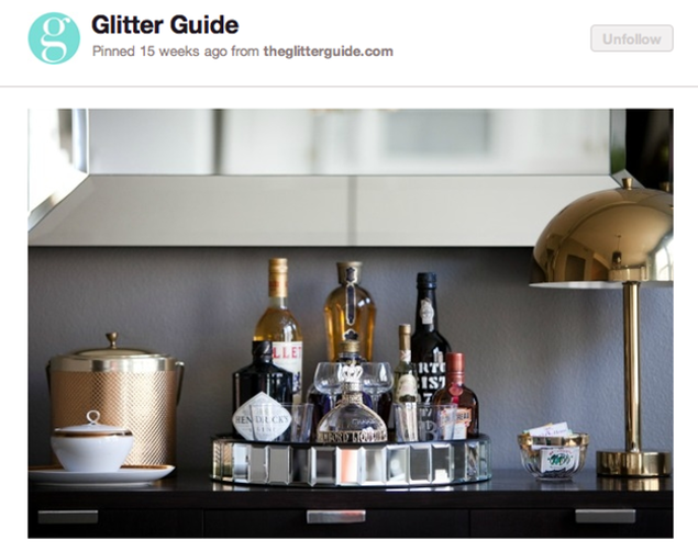 Pinteresting: The Home Bar Renaissance