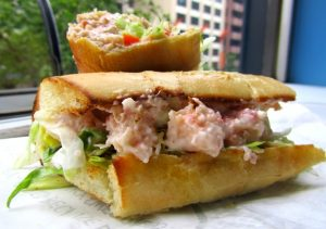 Taste Test: The Lobster Roll at Quizno's
