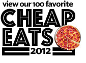 Cheap Eats 2012