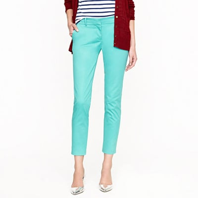 The Colored Cropped Trouser