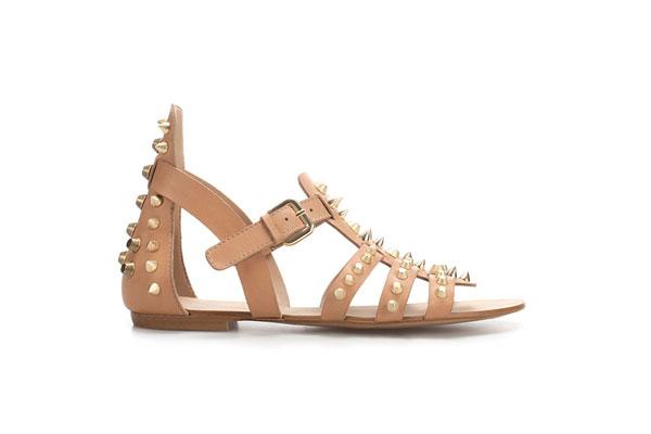 Neutral Flat Sandals