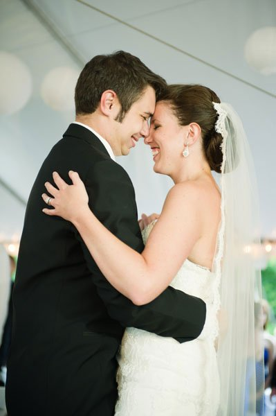 Real Weddings Alexis And Andrew Washingtonian Dc