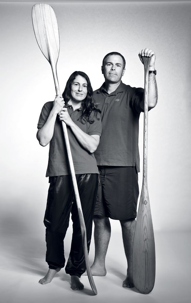 Olympic Moments: Alexandra and Mike Harbold