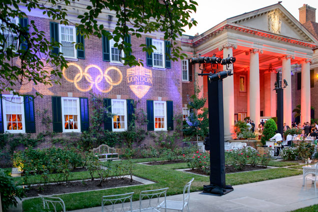 The Olympics Opening Ceremonies Viewing Party at the British Embassy (Photos)