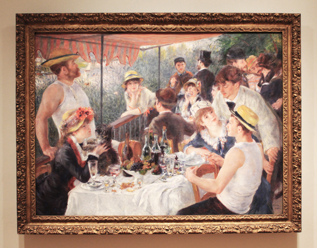 """DC Inspired: Pierre-Auguste Renoir's """"Luncheon of the Boating Party"""""""