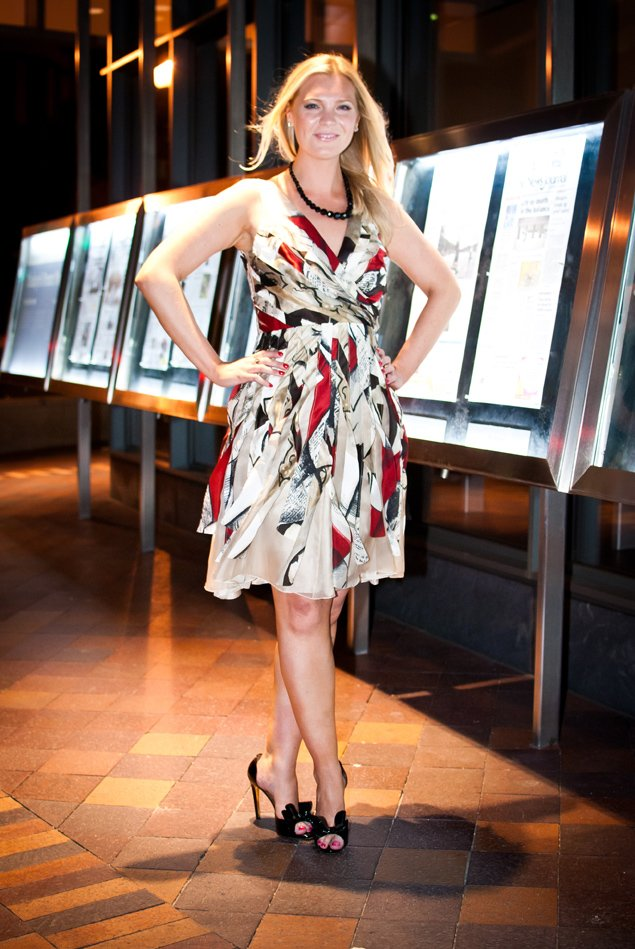 What I Wear To Work Wolfgang Puck S Power Hostess