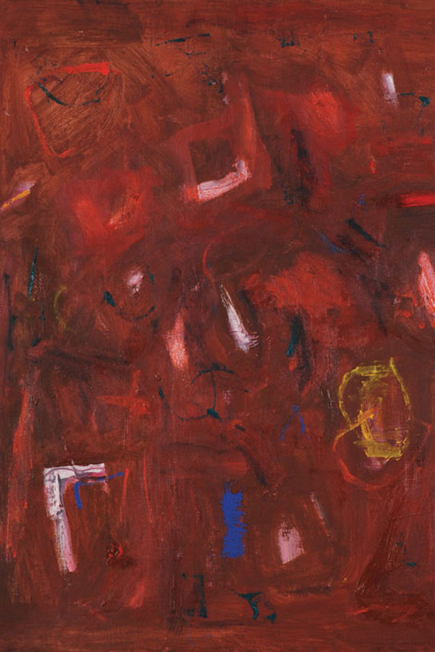 DC Inspired: Moody Abstract Expressionism at the Alex Gallery