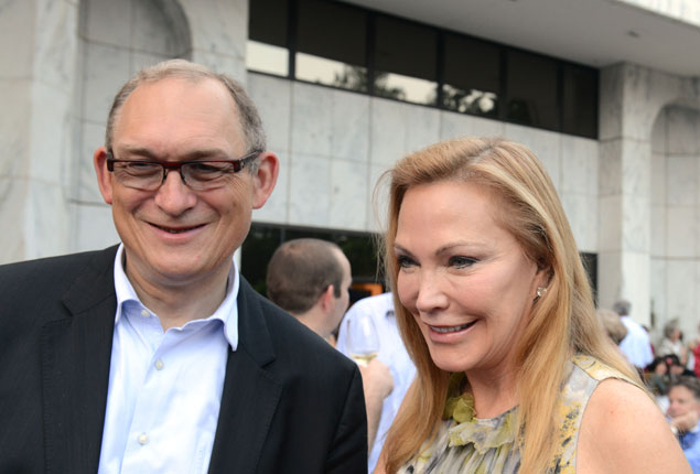 Roland Celette's Farewell Cookout at the French Embassy (Photos)
