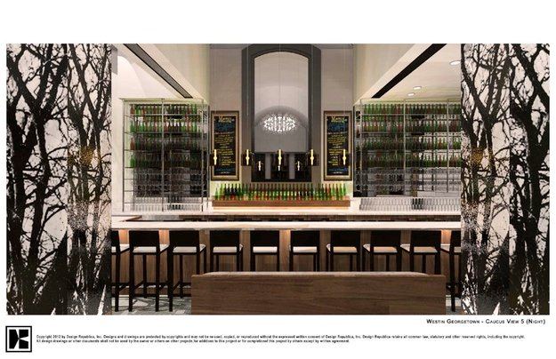 A Second Caucus Room and a Latin-Themed Bar Move In at the Westin Georgetown