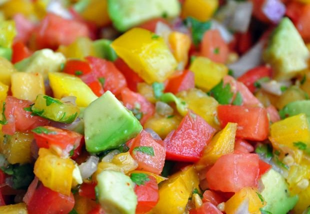Healthy Recipe: Heirloom Tomato and Avocado Salsa