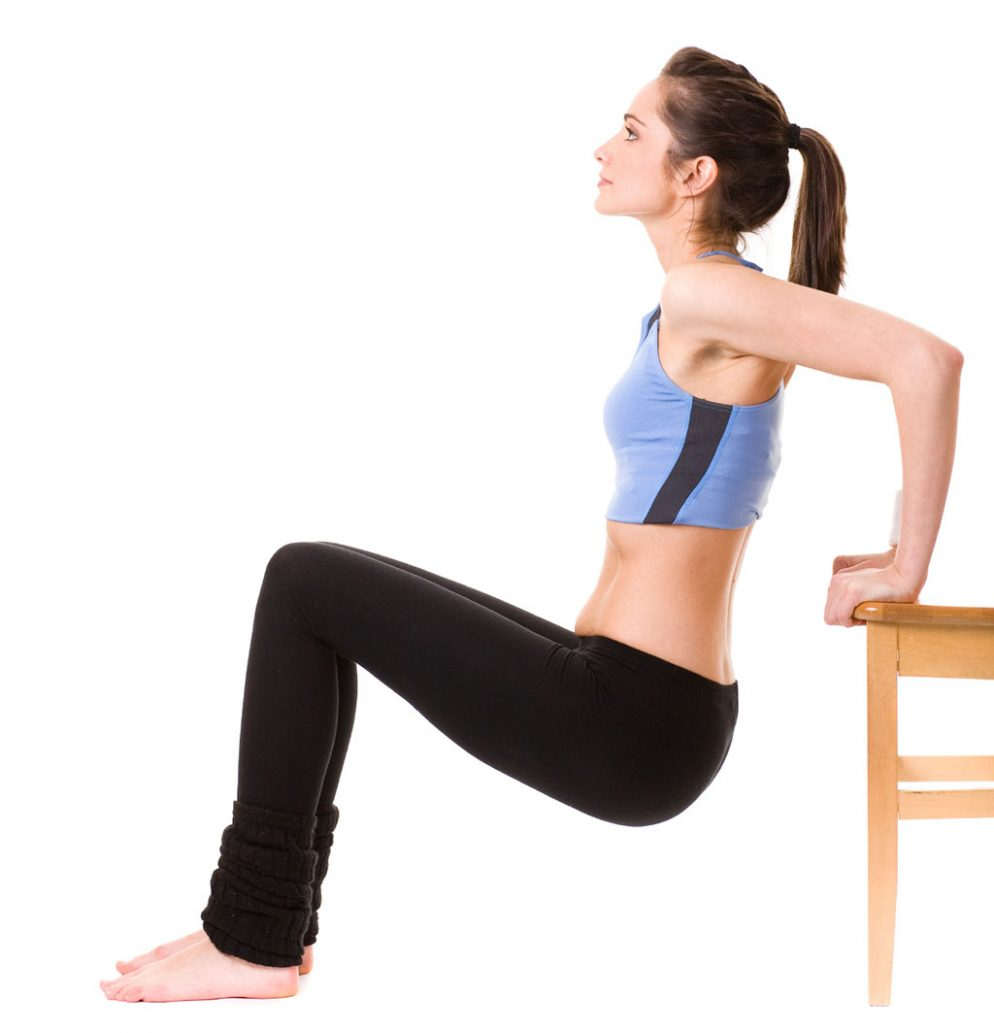 The At-Home Total-Body Chair Workout