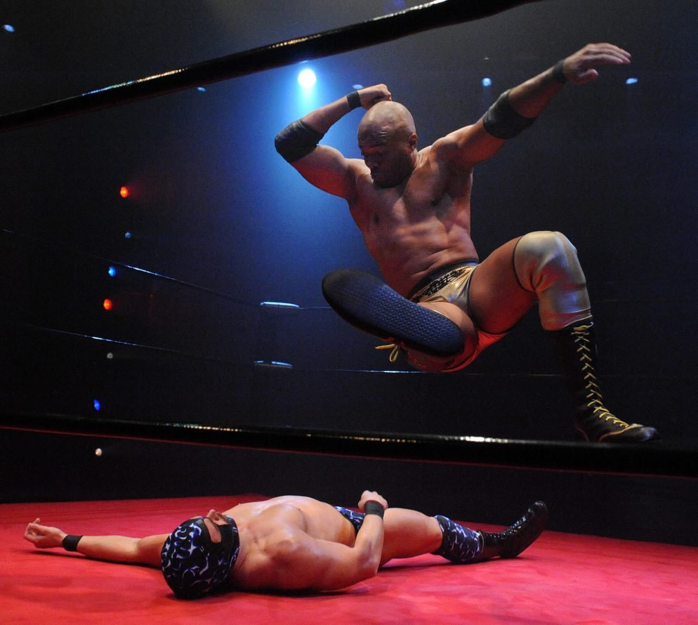 """Theater Review: """"The Elaborate Entrance of Chad Deity"""" at Woolly Mammoth"""
