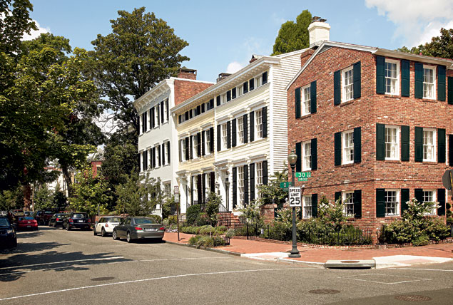 How Much is a House in Georgetown?