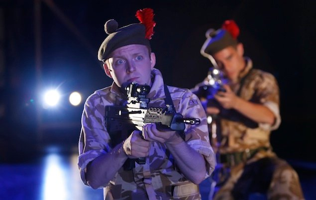 """Theater Review: """"Black Watch"""" at Shakespeare Theatre"""