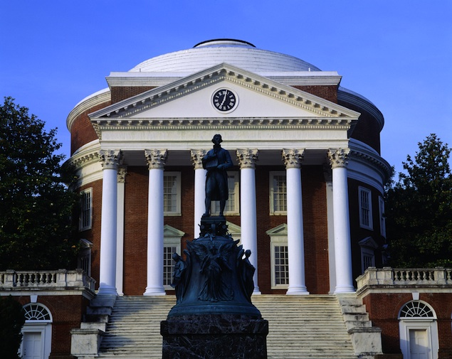 "University of Virginia Ranked Number One Party School by ""Playboy"""