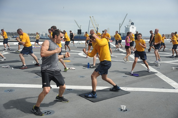 Do the Paul Ryan-Touted P90X Workout for Free in DC