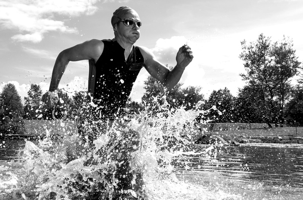 What It's Like to Train for a Triathlon When You're 66
