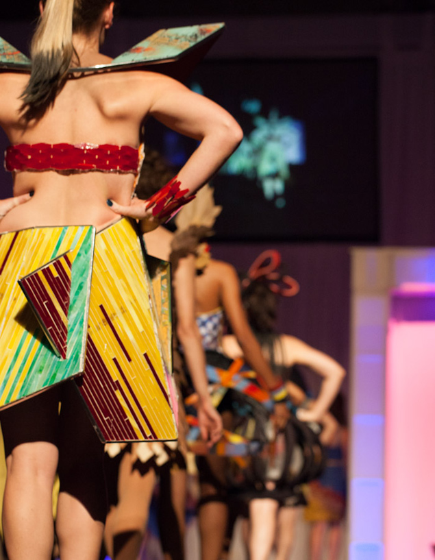 See Cosmo Couture S Architect Designed Dresses Made From