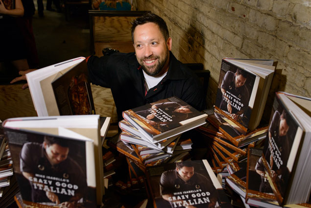 Mike Isabella Celebrates the Release of His First Cookbook With a Launch Party at Graffiato (Photos)