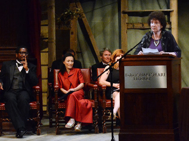 """Resilience"" Was the Theme of the 2012 PEN/Faulkner Awards Dinner at the Folger (Pictures)"