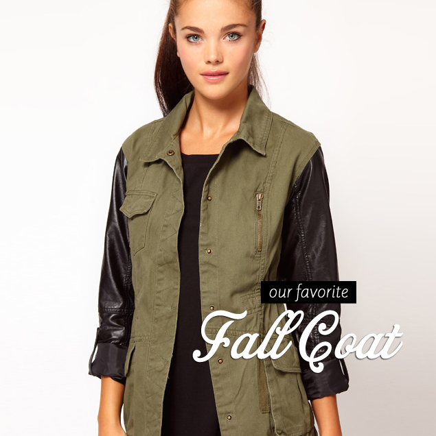 The Leather-Sleeve Jacket: A Fall Must-Have