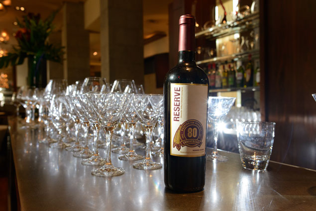 We Taste-Test the Redskins Table Wine With CityZen's Staff (Photos)