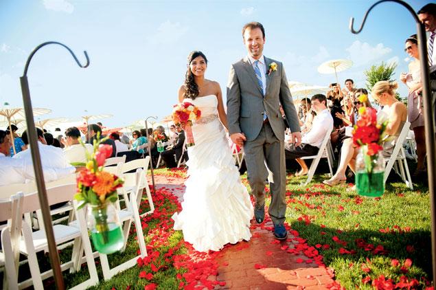 Real Wedding: Mona and Peter