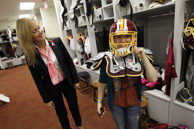 Tanya Snyder Talks Breast Cancer Awareness and the Redskins' Upcoming Pink Sunday