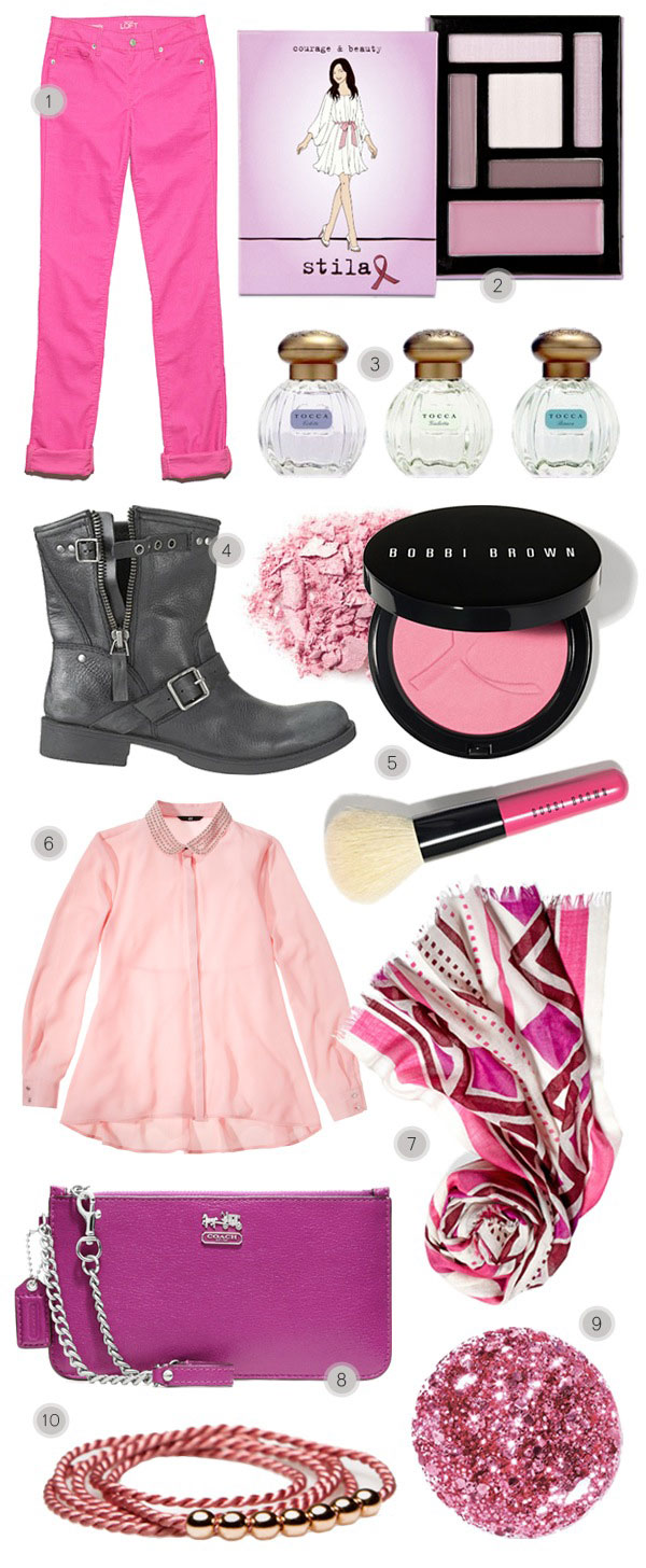Our Favorite Breast Cancer Awareness Fashion Finds for 2012