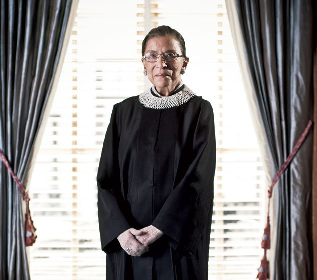 Stage Presence: Ruth Bader Ginsburg's Love of the Arts