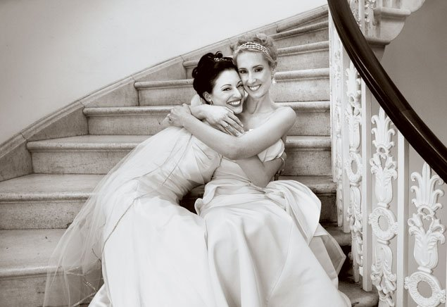 Real Wedding: Tricia and Amelia
