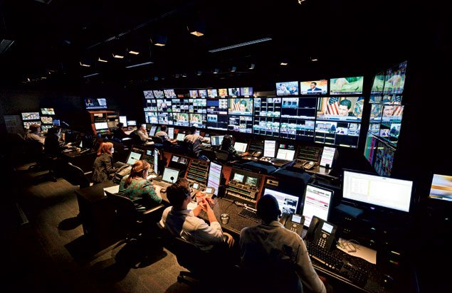 Behind the Scenes: CNN's Control Room