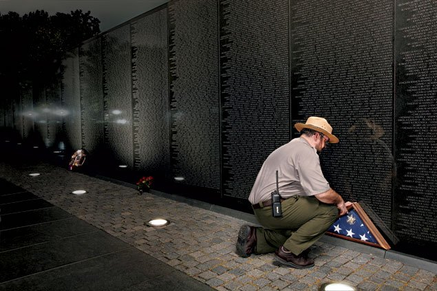 The Things They Leave Behind: Artifacts From the Vietnam Veterans Memorial