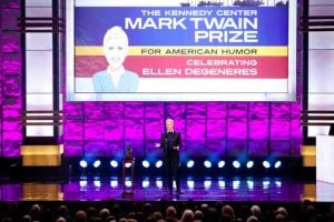 Ellen DeGeneres Receives the Mark Twain Prize at the Kennedy Center