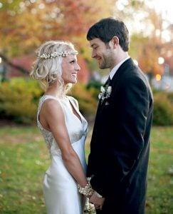 Real Wedding: Christine and Kyle