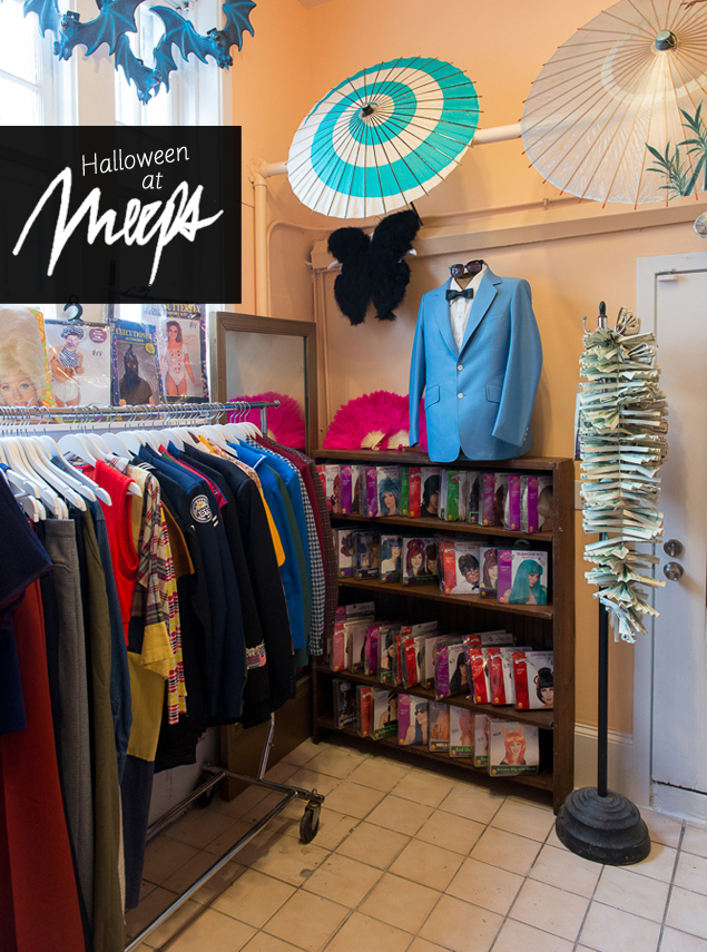 Get Your Halloween Costume Essentials at Meeps' Just-Opened Costume Room